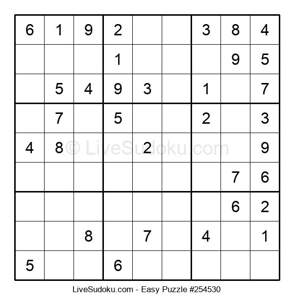 Beginners Puzzle #254530