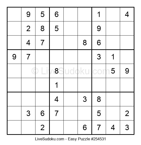 Beginners Puzzle #254531