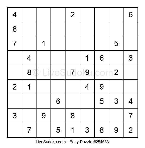 Beginners Puzzle #254533