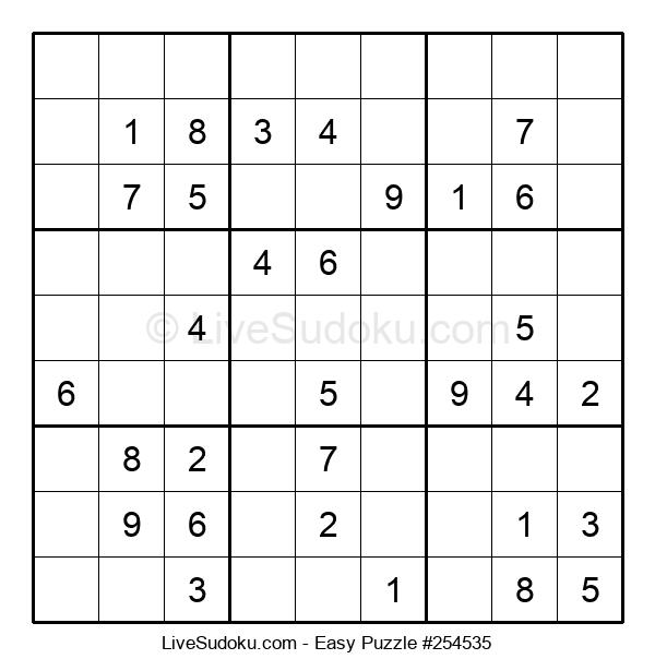 Beginners Puzzle #254535