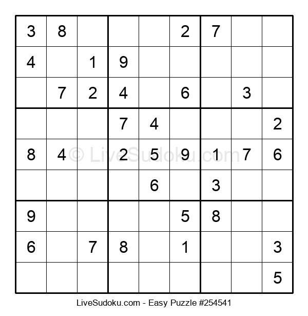 Beginners Puzzle #254541