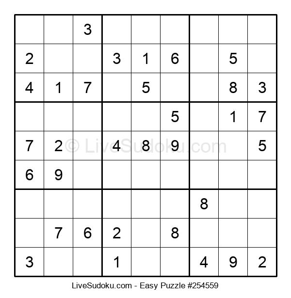 Beginners Puzzle #254559