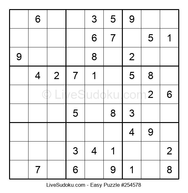 Beginners Puzzle #254578