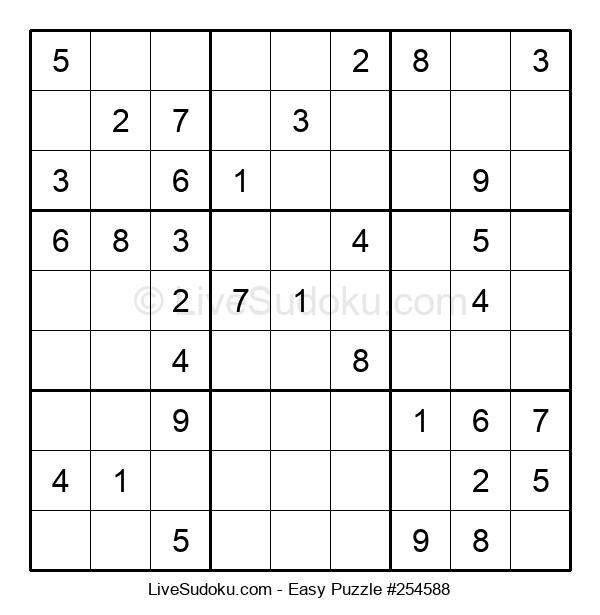 Beginners Puzzle #254588