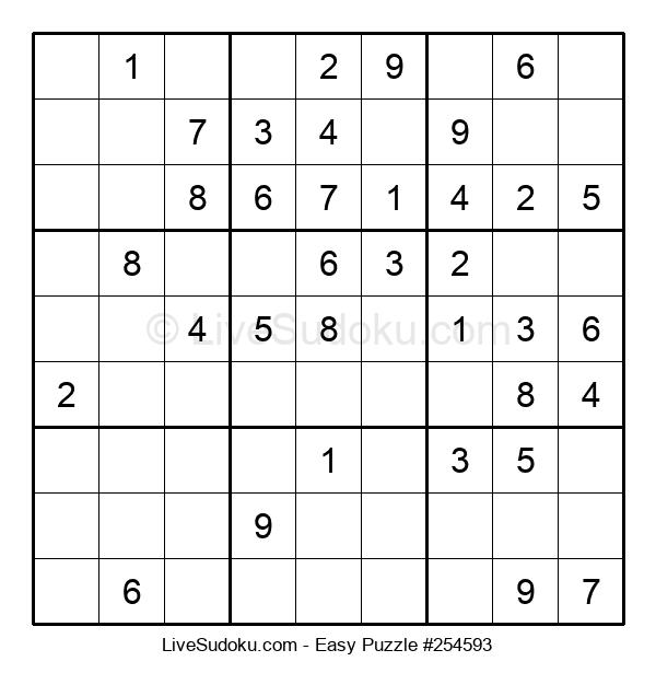 Beginners Puzzle #254593