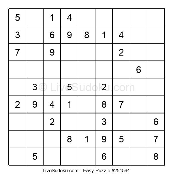 Beginners Puzzle #254594