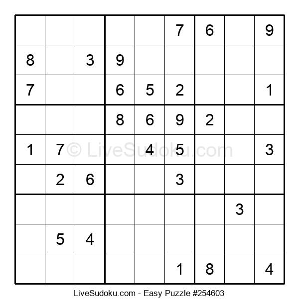 Beginners Puzzle #254603