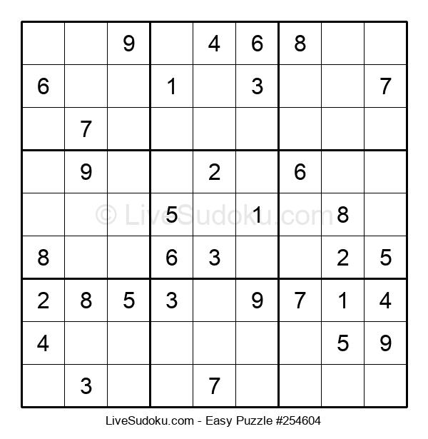 Beginners Puzzle #254604