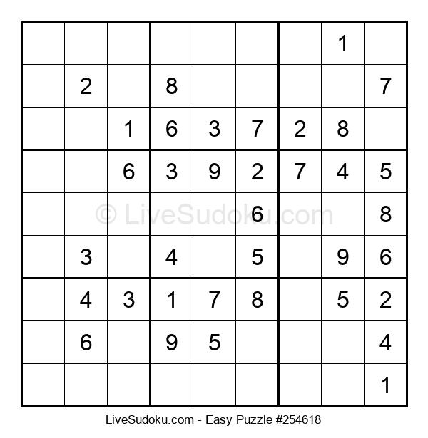 Beginners Puzzle #254618