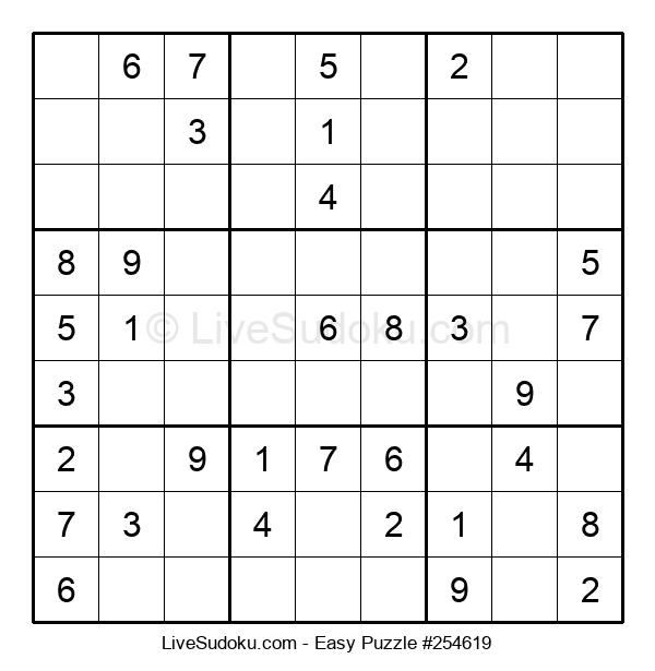 Beginners Puzzle #254619
