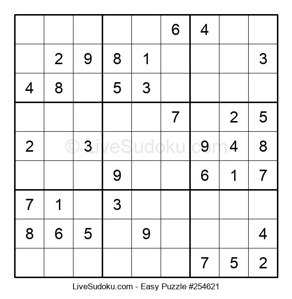 Beginners Puzzle #254621