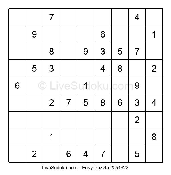Beginners Puzzle #254622