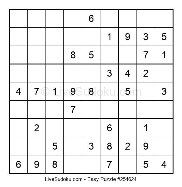 Beginners Puzzle #254624