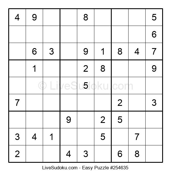 Beginners Puzzle #254635