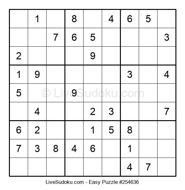 Beginners Puzzle #254636