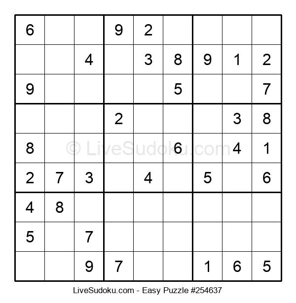 Beginners Puzzle #254637