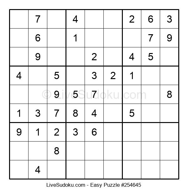 Beginners Puzzle #254645