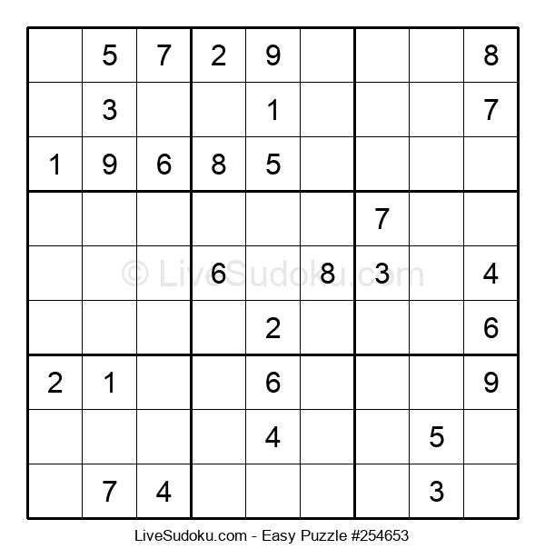 Beginners Puzzle #254653