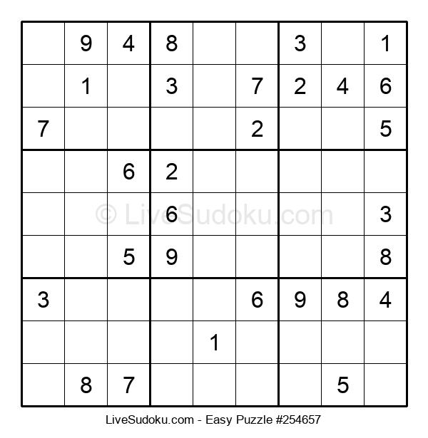 Beginners Puzzle #254657