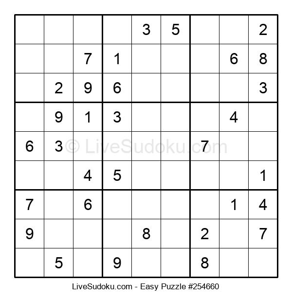 Beginners Puzzle #254660