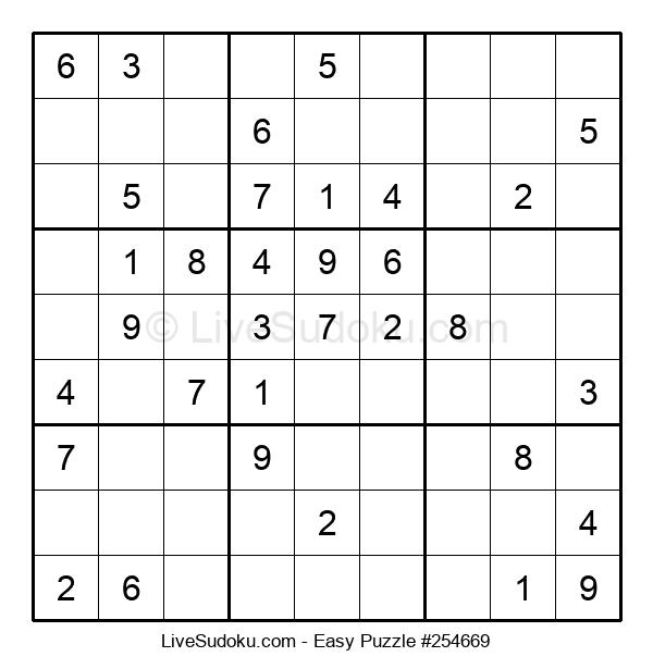 Beginners Puzzle #254669