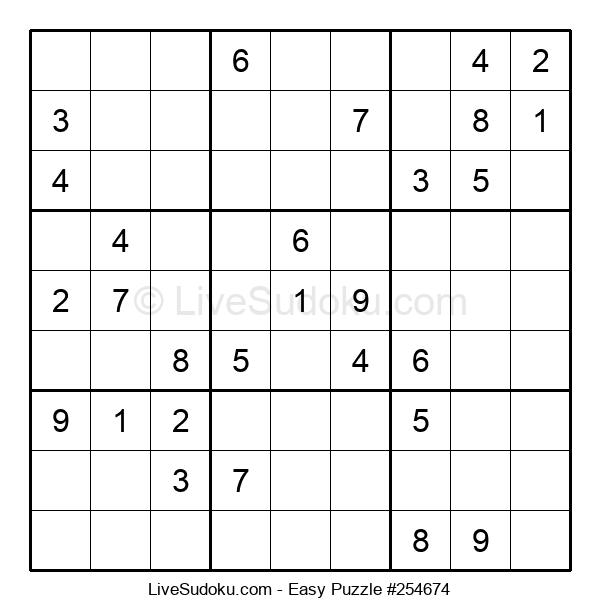 Beginners Puzzle #254674