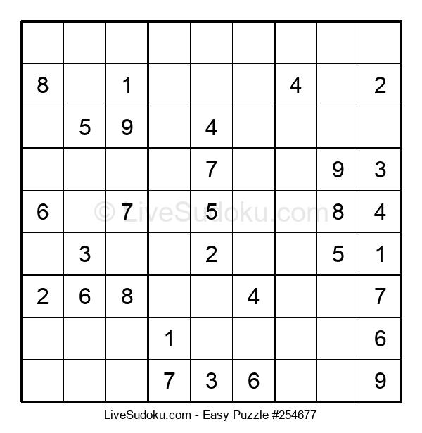 Beginners Puzzle #254677