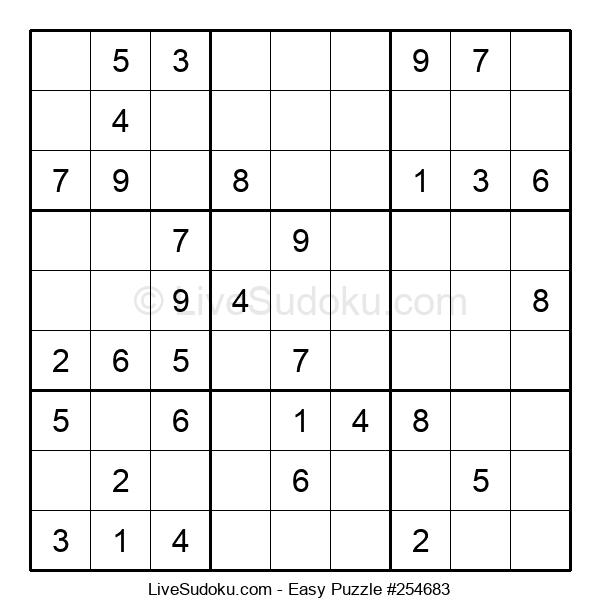 Beginners Puzzle #254683