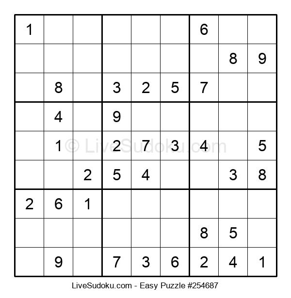 Beginners Puzzle #254687