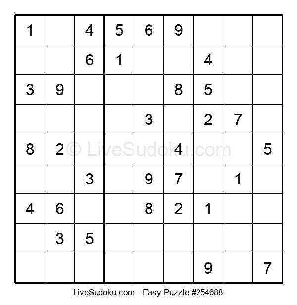 Beginners Puzzle #254688