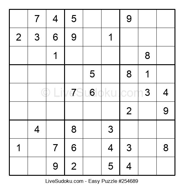 Beginners Puzzle #254689