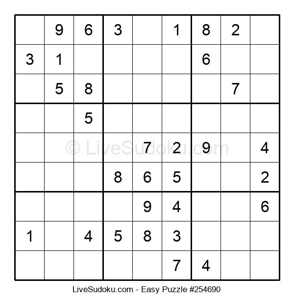 Beginners Puzzle #254690