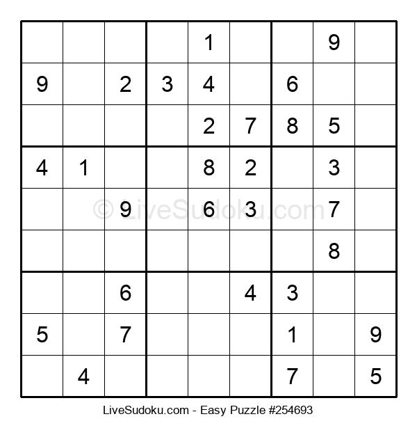 Beginners Puzzle #254693