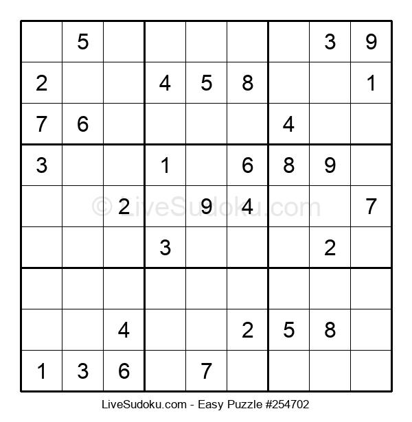 Beginners Puzzle #254702