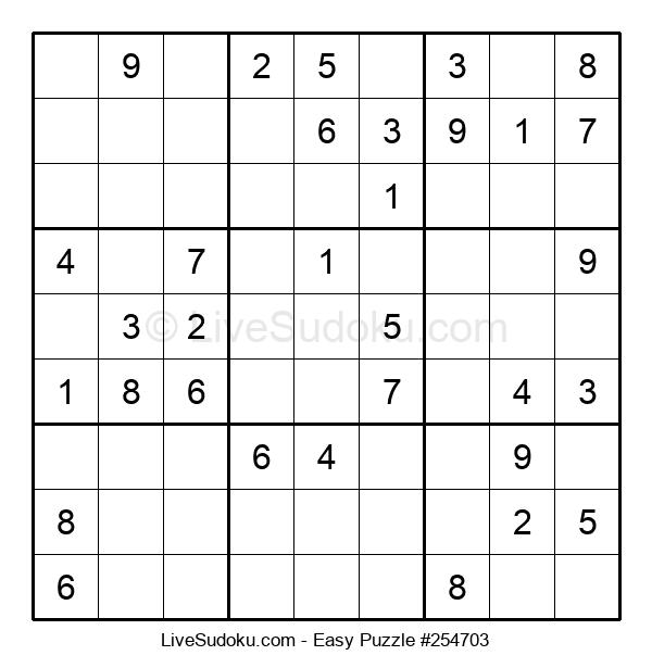 Beginners Puzzle #254703
