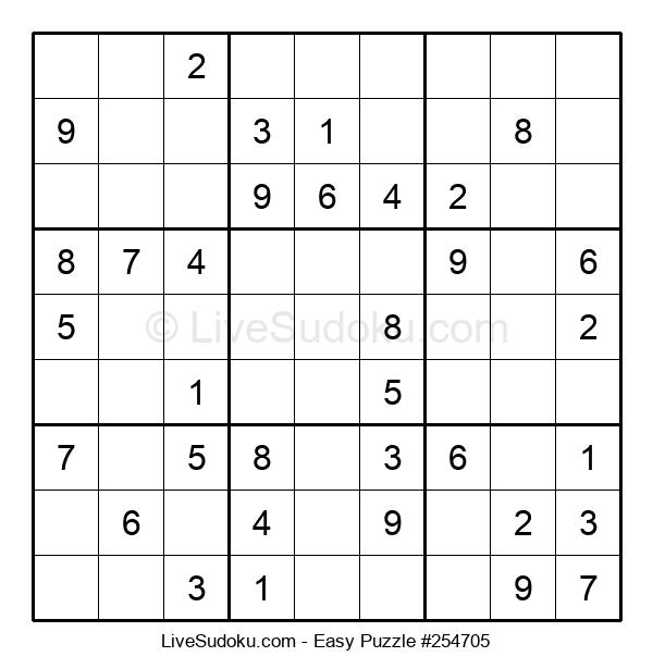 Beginners Puzzle #254705