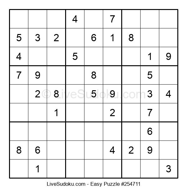 Beginners Puzzle #254711