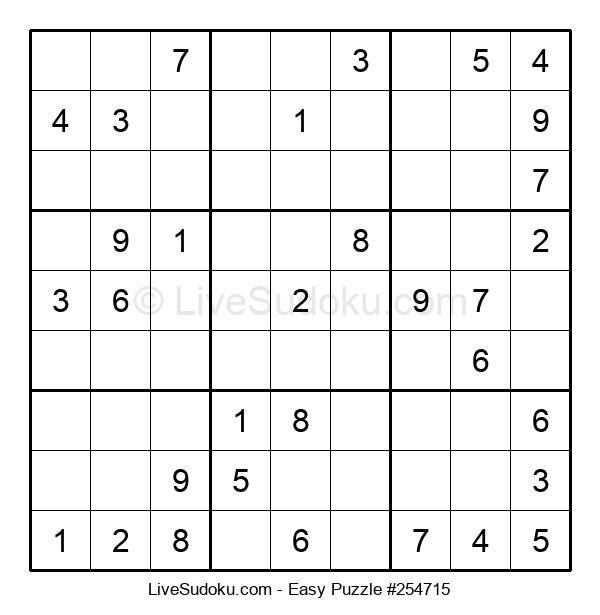 Beginners Puzzle #254715