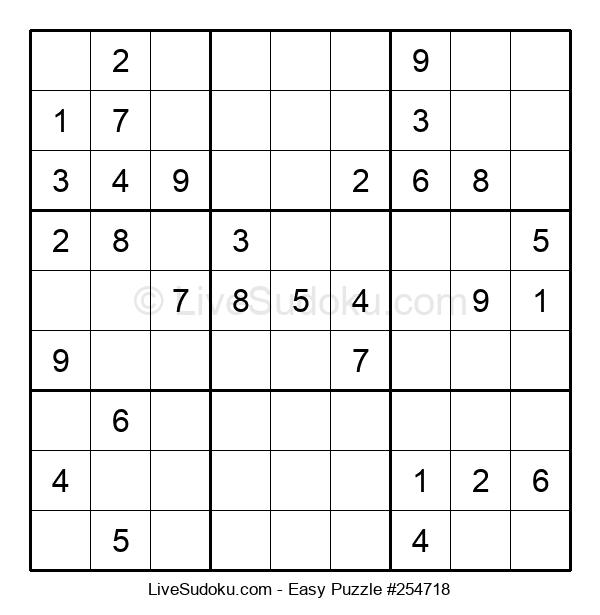 Beginners Puzzle #254718