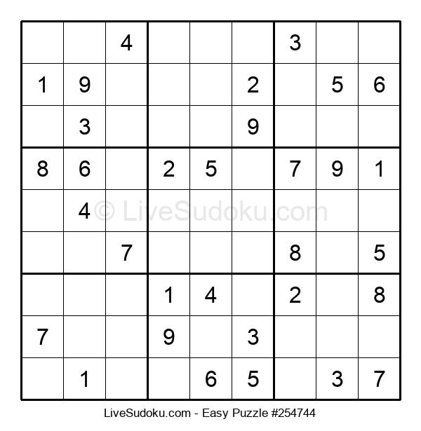 Beginners Puzzle #254744