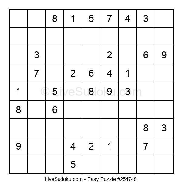 Beginners Puzzle #254748