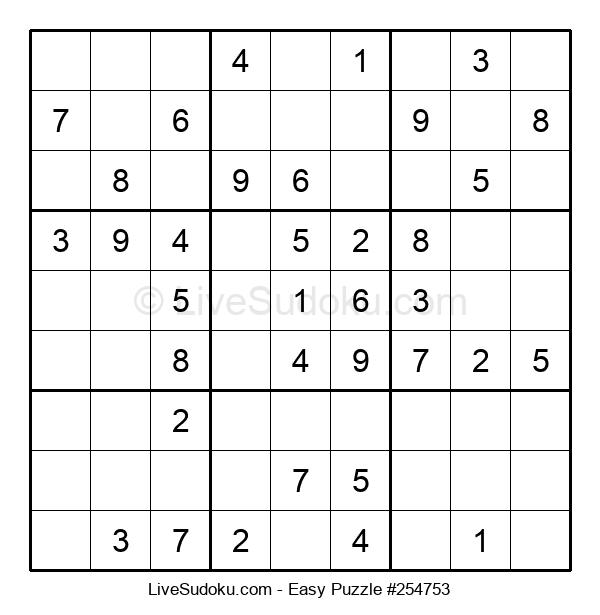 Beginners Puzzle #254753