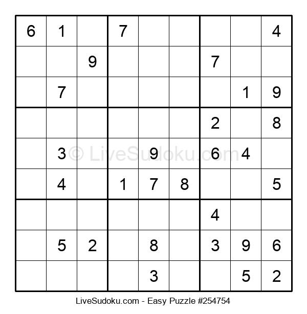 Beginners Puzzle #254754