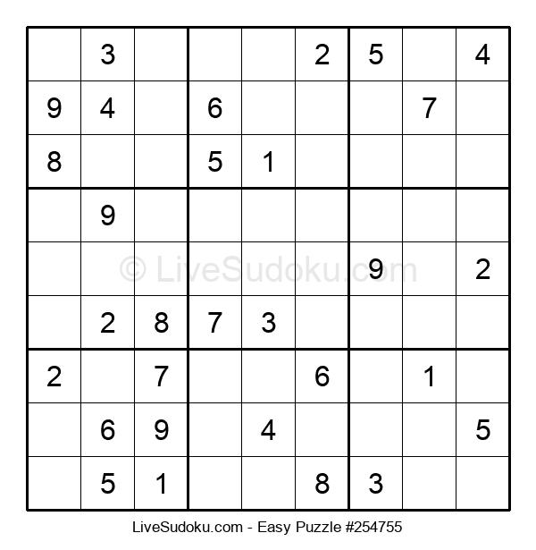Beginners Puzzle #254755