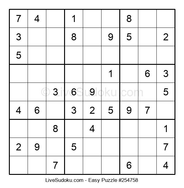 Beginners Puzzle #254758