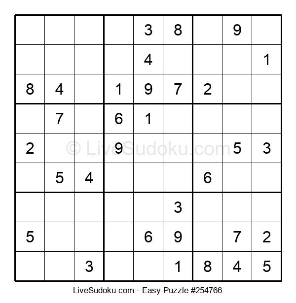 Beginners Puzzle #254766