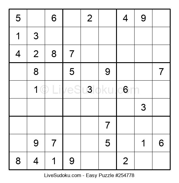 Beginners Puzzle #254778
