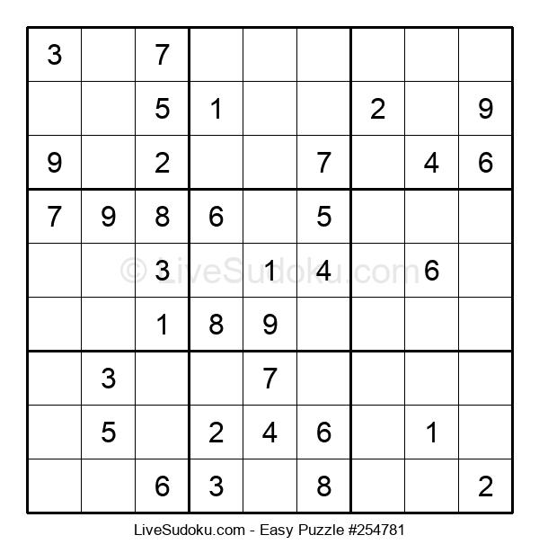 Beginners Puzzle #254781