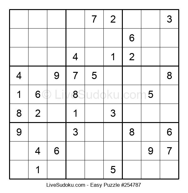 Beginners Puzzle #254787
