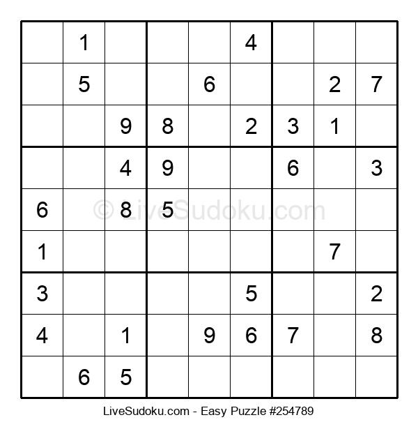 Beginners Puzzle #254789